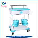 Hospital Products Nursing Medical Cart with Basket