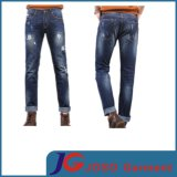 Pocket Scratch Men Denim Jeans Waisted Jeans (JC3292)