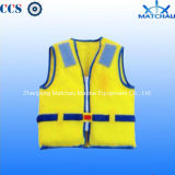 Reflective Safety Clothing Roadway Warning Vest Reflective