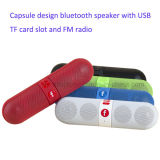 New Design Portable Bluetooth Speaker with Capsule Shape (BT808)