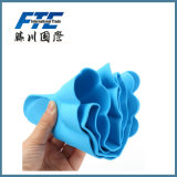 Wholesale Cute Waterproof Solid Color PVC Shower Cap for Baby