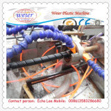 Italy Running Hydraulic Hose Protective Sheath PE Spiral Wrapping Band Extrusion Line
