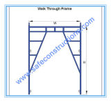 Safe SGS Passed Frame Scaffolding for Construction