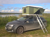 Easy Opened Outdoor Camping Car Hard Shell Roof Tent for Family