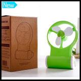 Built-in 800mAh Battery Portable Mini USB Rechargeable Desktop Fan