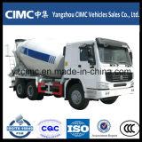 9m3 HOWO 6X4 Heavy Truck Mixer Truck
