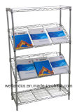 DIY Adjustable Office Metal Slanted Display Rack 900 X 450 X 1800 mm