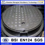 Hot Dipped Galvanized Clay Sand Casting Manhole Cover