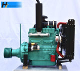 Zh4102p Stationary Work with Clutch 4 Cylinder Diesel Engine