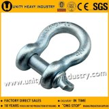 Commercial Grade Forged Screw Pin Us Type Anchor G 209 Shackle