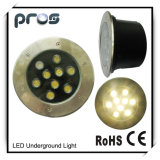 CE RoHS Approved LED Under Ground Light 9W
