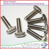 Zinc Plate T Square Head Bolt DIN261
