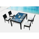 Wicker Dining Set for Outdoor with Four Chairs SGS (6809)