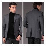 Wholesale OEM Mens′s Formal Buiness Grey Suit Blazer