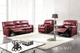 Recliner Leather Sofa (396)
