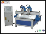 Double Spindle CNC Wood Metal Stone Engraving Machine