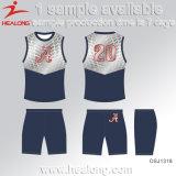 Healong No MOQ Sportswear Dye-Sublimation Printing Cycling Jersey
