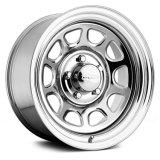 16X8 (5-139.7) Chrome Steel Daytona Wheel