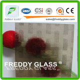 4.6mm Bronze Woven Patterned Glass/ Furniture Glass/ Window Glass