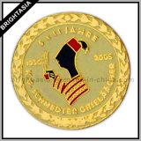 Custom Made Golden Enamel Metal Pin for Souvenir (BYH-10357)