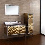 Stainless Steel Bathroom Vanity Side Cabinet with Legs