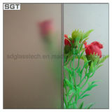 2mm-12mm Tempered/Toughened Acid Etched Glass for Office Usage