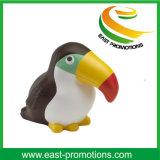Bird Shaped Custom Logo Soft PU Stress Ball for Toys