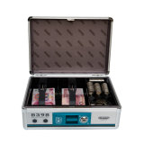 Aluminum Portable Cash Security Box Saving with Storage Tray B398