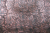 Popular Embossed Pattern Synthetic Leather for Bags, Shoes, Decoration (HS-Y03)