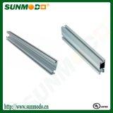Clear Anodized Heavy Aluminum Rail