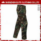 Customised Cheap Military Camo Work Pants with Side Pockets (ELTHVPI-60)