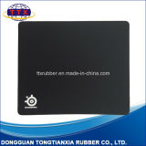 Customized Rectangle Non-Slip Rubber Gaming Black Mouse Pad