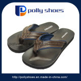 Man Fashion Beach Leather Slipper