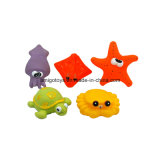 Baby Gift Set with 5PCS Sea Animals Toy in Plastic Material