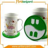 Customized Design PVC Cup Coaster