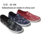 Latest Low Price Men′s Rubber Canvas Shoes Injection Shoes (DL160624-7)