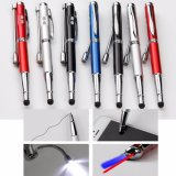 5 in 1 Red Laser Teach Pointer UV White LED Oil Pencle PDA Pen Light LED Lighting Pen