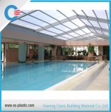Polycarbonate Sheet Cover for Swimming Pool Roof