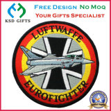 Airplane Logo OEM, 100% Embroidered, Iron on Backing Cloth Garment Accessory