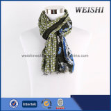 Italy Design 85% Visco 15% Wool Print Scarf