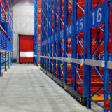 Warehouse Electrical Mobile Rack for Pallet Storage with Floor Rail