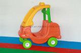 Preschool Kids on Ride Toy Colorful Plastic Beetle Walker Car