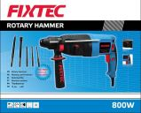 Fixtec 800W 26mm Rotary Hammer Drill Machine