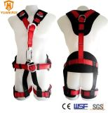 Ce Certificate Climbing Full Body Safety Harness Kit for Roofer Tower Workers
