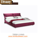 Divany Good Quality Latest Italy Design Double Bed