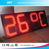High Brightness Super Large LED Temperature Sign for Outdoor