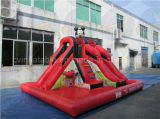 Commercial Grade Inflatable Water Slide with Pool for Sale