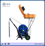 150m, 200m, 300m, 500m Soft Cable Borehole Inspection Camera for Sale with Depth Counter V10-BCS