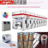 Asy-D Series Rail Plastic Film Gravure Printing Presses