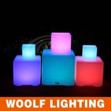 Battery Power 3D Color LED Cube with USB